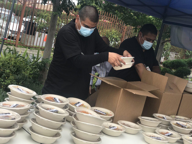 Danny Trejo Brings Smiles to Kedren Community Health Center